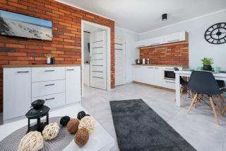 Domki WILENA Jastrzębia Góra Apartament - Salon 4 osób
