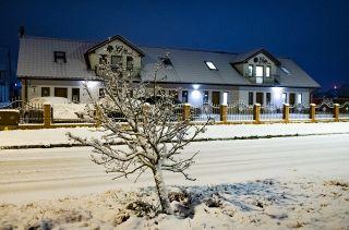 Apartamenty GAJA Darłówko Gaja zimą