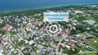 DOMKI CAŁOROCZNE U MICHAŁA Jastrzębia Góra  lokalizacja obiektu