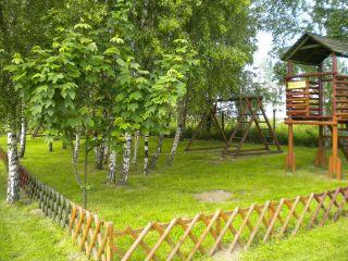 Domki i Pole namiotowe AGA Chłapowo WIDOK OG