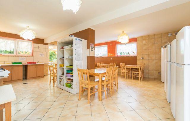Ośrodek Wypoczynkowy WODNIK Pobierowo Kuchnia dla wczasowiczów