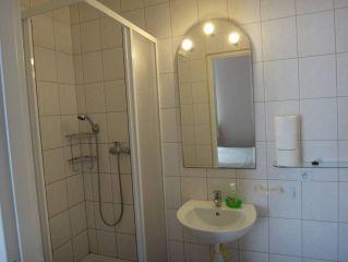 Domki Letniskowe ASTUR Jastrzębia Góra łazienka apartament