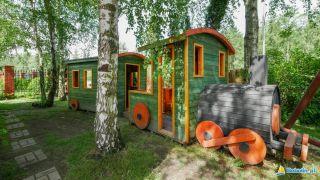 Domki apartamentowe GOŚCINIEC BOBOLIN Bobolin Plac zabaw