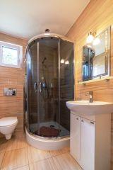Dom Wypoczynkowy GOGA Jastrzębia Góra Reksio - łazienka