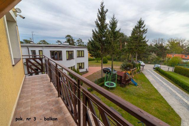 Dom Wypoczynkowy GOGA Jastrzębia Góra Pokój nr 3 - balkon