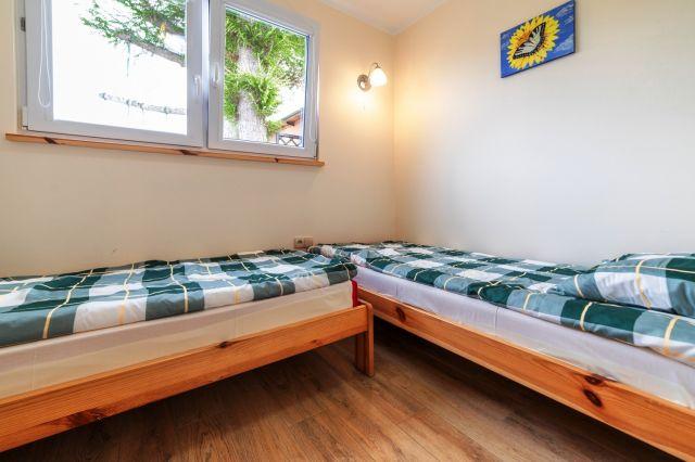 Dom Wypoczynkowy GOGA Jastrzębia Góra Reksio - sypialnia 2