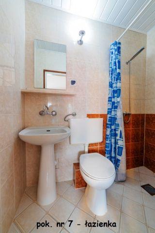 Dom Wypoczynkowy GOGA Jastrzębia Góra pokój nr 7 - łazienka