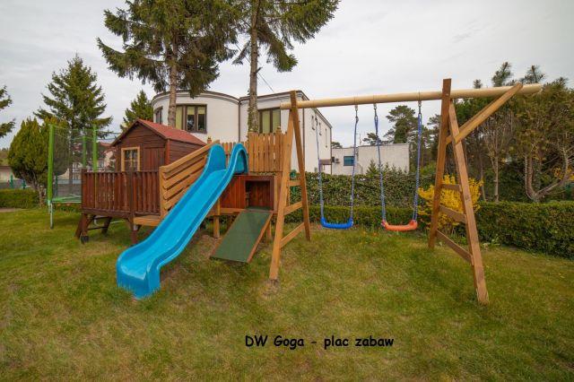 Dom Wypoczynkowy GOGA Jastrzębia Góra Goga - plac zabaw