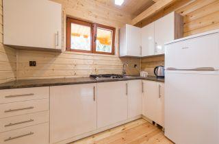 Domki 8 DĘBÓW Pobierowo Kuchnia duży domek