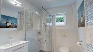 Willa DI MARE Karwia łazienka pokoju Nr.8