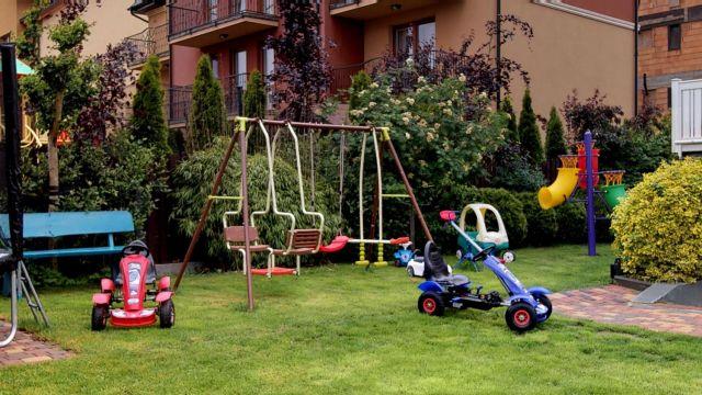 Willa DI MARE Karwia Plac zabaw