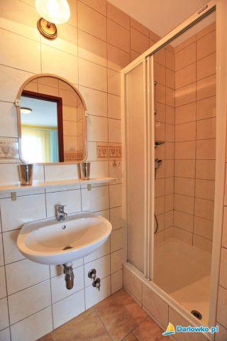 Ośrodek Wczasowy DIANOLA Darłówko łazienka