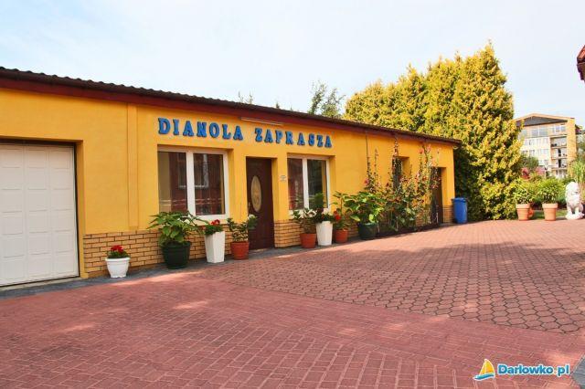 Ośrodek Wczasowy DIANOLA Darłówko recepcja