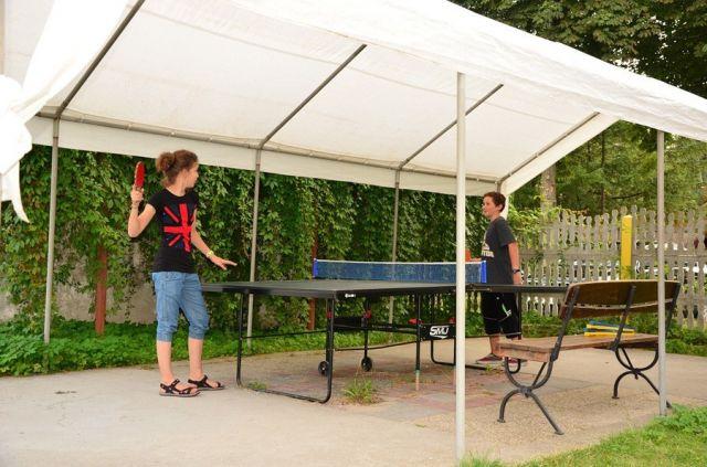 Ośrodek Wczasowy DIANOLA Darłówko ping-pong zewnętrzny