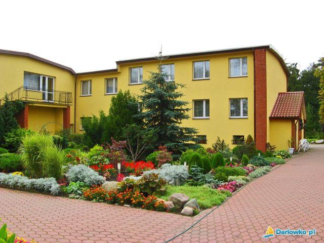 Ośrodek Wczasowy DIANOLA Darłówko ogród