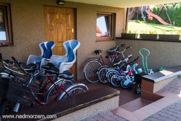 Domki Letniskowe CORLEONE Ostrowo Bezpłatne rowery