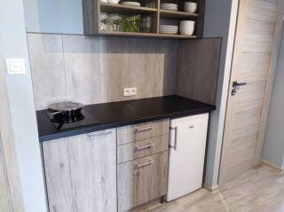 Dom Wypoczynkowy ABAL Jastrzębia Góra Apartament 3 - kuchnia