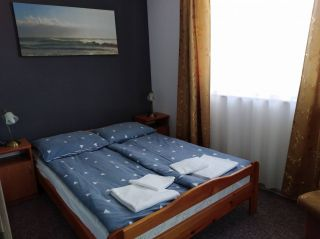 Dom Wypoczynkowy ABAL Jastrzębia Góra Apartament 3 - sypialnia