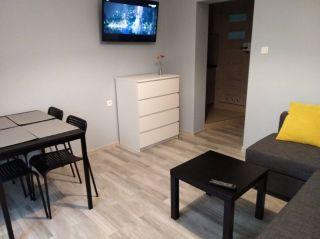 Dom Wypoczynkowy ABAL Jastrzębia Góra Apartament 3 - pokój dzienny