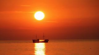 Agroturystyka POD STRZECHĄ Cisowo Zachód słońca