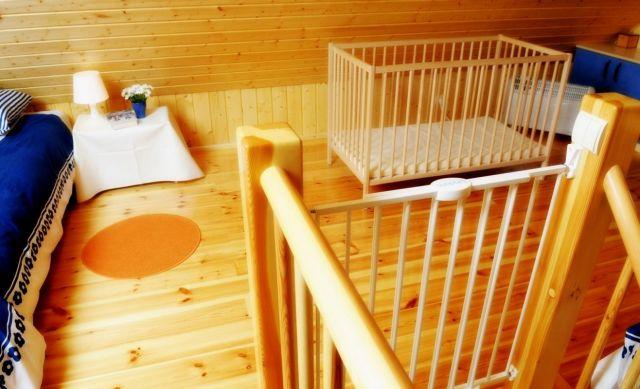 Domki Drewniane Całoroczne PLEJADY Dźwirzyno Domek 4 osobowy - sypialinia