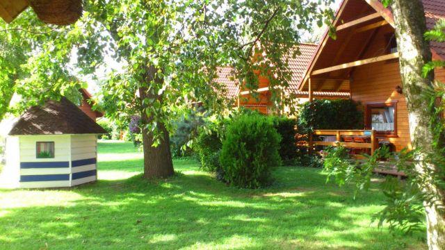 Domki Drewniane Całoroczne PLEJADY Dźwirzyno Domek dla dzieci i domki 4 osobowe