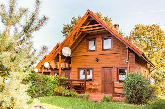 Domki Drewniane Całoroczne PLEJADY Dźwirzyno Domek 6 osobowy