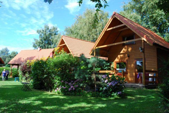 Domki Drewniane Całoroczne PLEJADY Dźwirzyno Domki 4 osobowe