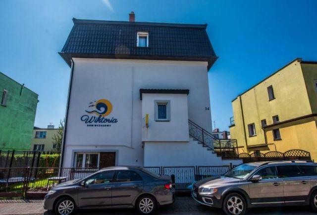Dom Wczasowy WIKTORIA Darłówko Budynek główny