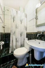 Dom Wczasowy Leśna Perła Jastrzębia Góra 33 - łazienka pokój 1 osobowy