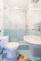Dom Wczasowy Leśna Perła Jastrzębia Góra 1 - pokój 1 osobowy - łazienka