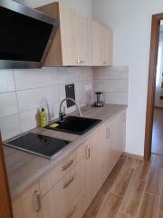 Pokoje Gościnne DALIA Karwia apartament - kuchnia