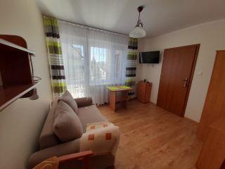Pokoje Gościnne DALIA Karwia apartament-pokój dzienny