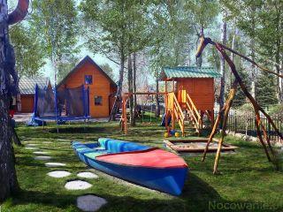 ZIELONY ZAKĄTEK Dziwnów Plac zabaw dla dzieci