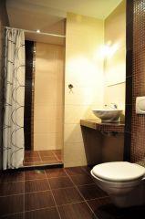 Dom Wypoczynkowy VERTUS Jastrzębia Góra łazienka studia