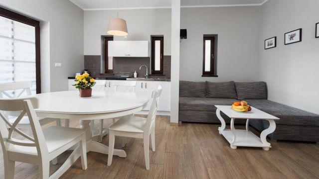 Domki Apartamentowe HALLERÓWKA Władysławowo Hallerowka Resort Władysławowo - salon