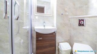 Pokoje WERONIKA Władysławowo Pokój 5 łazienka