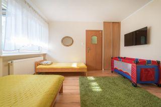 Pokoje WERONIKA Władysławowo Pokój 4 z łóżeczkiem