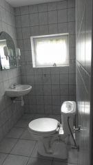 Pokoje Gościnne NORDA Ostrowo łazienka w pokoju nr 8