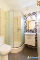 Pokoje Gościnne NORDA Ostrowo łazienka w pokoju nr 2