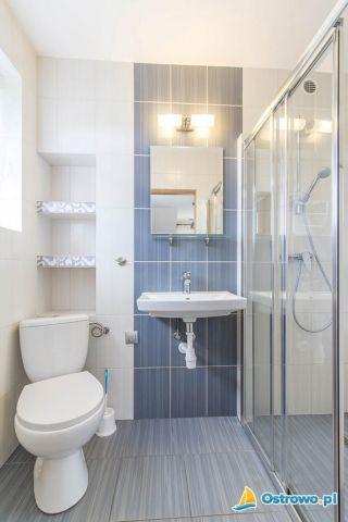 Pokoje Gościnne NORDA Ostrowo łazienka w apartamencie