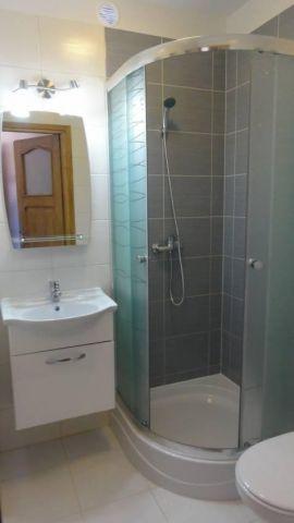 Pokoje Gościnne NORDA Ostrowo łazienka w pokoju nr 1