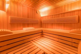 Villa MAKRO Darłówko sauna