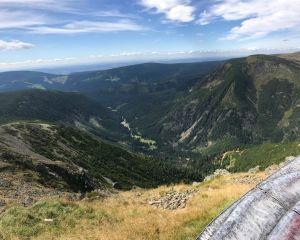 ZAKĄTEK GÓRSKI Sosnówka Widok ze szczytu