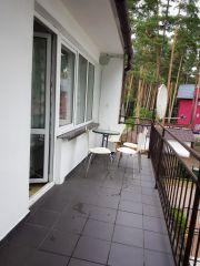 Pokoje i domek U ALFREDA Pobierowo Pokój 4 osobowy z balkonem - balkon