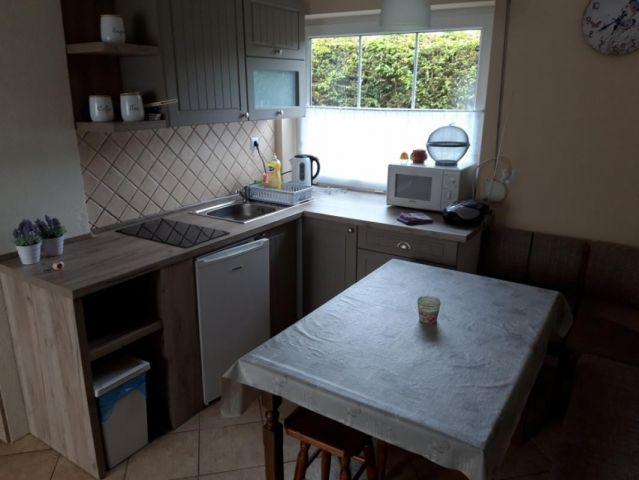 Domki DĘBINKA Dębina aneks kuchenny