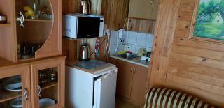 Dom Letniskowy Bliźniak w Rowach Rowy Dom zachodni - aneks kuchenny