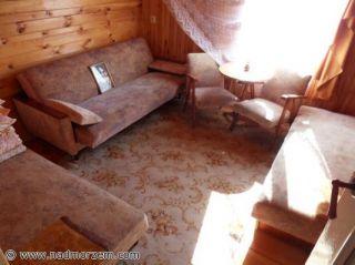 Dom Letniskowy Bliźniak w Rowach Rowy Dom zachodni - pokój 3-osobowy - piętro