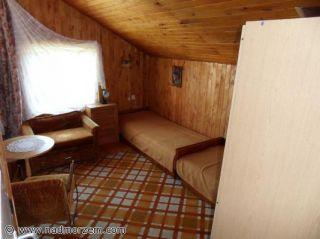 Dom Letniskowy Bliźniak w Rowach Rowy Dom wschodni - pokój 3-osobowy