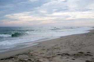 Zacisze Sosnowe Łazy Pensjonat przy zejściu na plażę